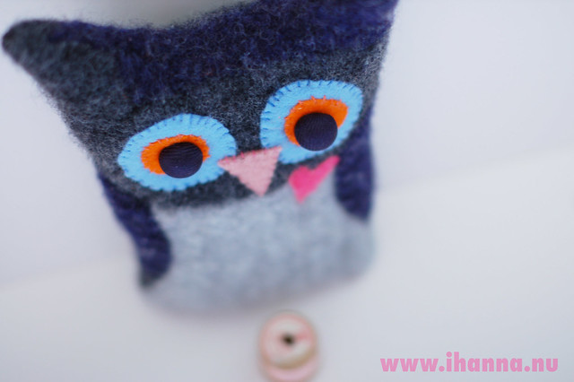 Recycled Wool Owl & Long Lists