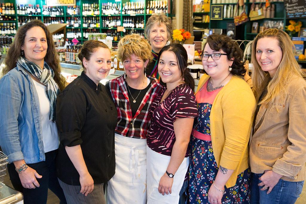 Team at the Locke Store in Millwood Virginia