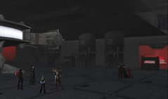 Sith Inquisition Fleet hangar