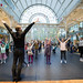 Royal Ballet dancer David Pickering leads a dance workshop at Family Sundays © ROH/Sim Canetty-Clarke