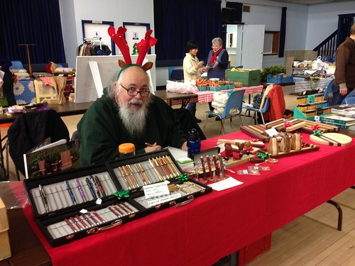 Flogging My Wares at Market Day Dec. 15/2013
