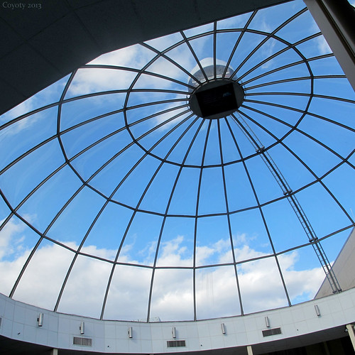 Crowne Plaza pool dome by Coyoty