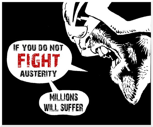 Judge Dredd: If you do not fight austerity, millions will suffer by Teacher Dude's BBQ