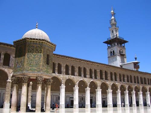 Mezquita de los omeyas de Damasco (Siria)