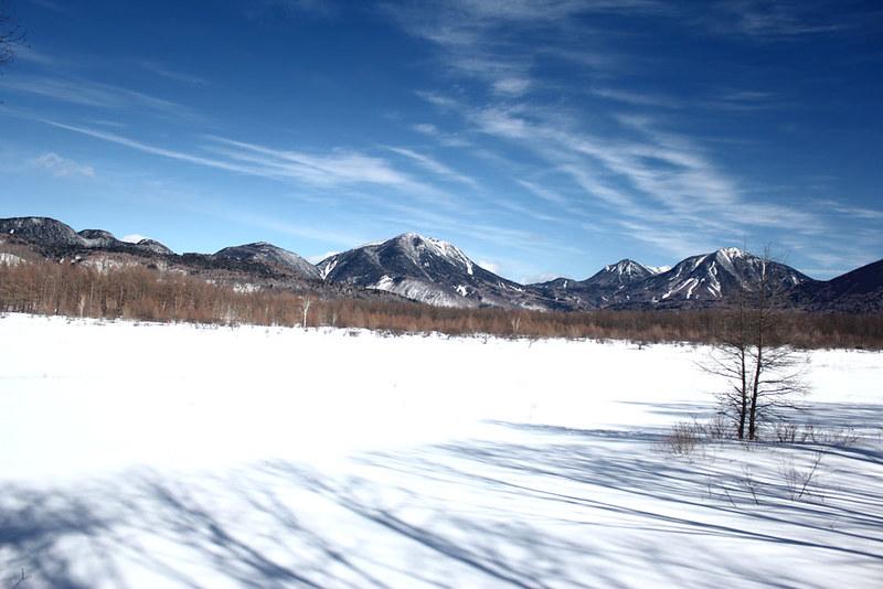 冬の戦場ヶ原