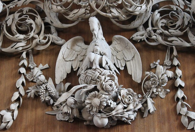 Church of St. James's, The Pelican in Her Piety by Grinling Gibbons