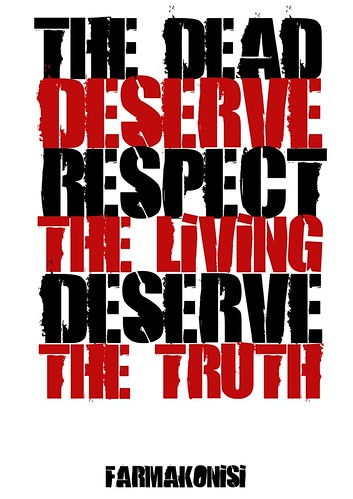 Farmokonisi: The dead deserve respect, the living the truth. by Teacher Dude's BBQ