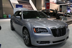 automobile(1.0), automotive exterior(1.0), executive car(1.0), wheel(1.0), vehicle(1.0), automotive design(1.0), auto show(1.0), chrysler 300(1.0), chrysler(1.0), sedan(1.0), land vehicle(1.0), luxury vehicle(1.0),