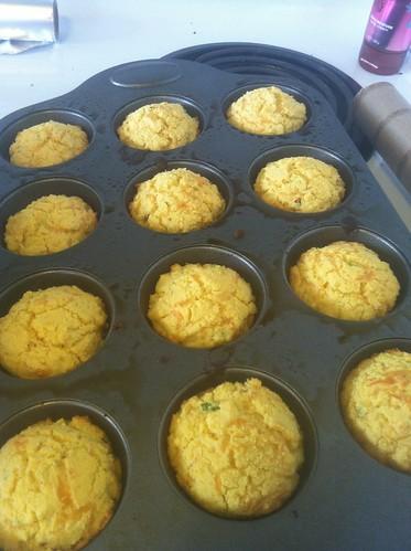 Cornbread muffins