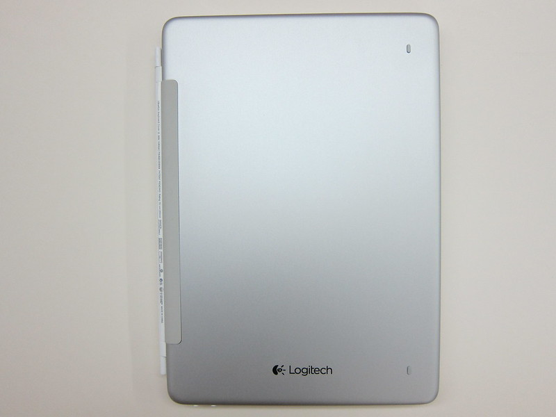 Ultrathin Keyboard Cover - Attached To iPad Air (Closed)