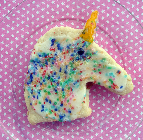 Unicorn pop tarts