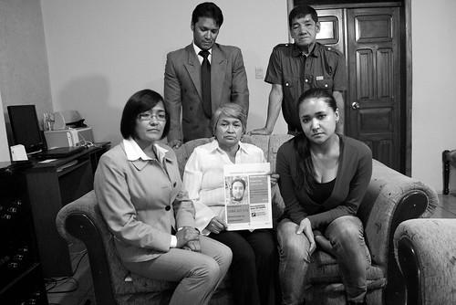 Familia de Telmo Orlando Pacheco