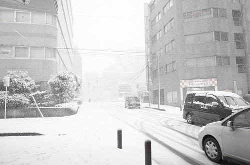 heavy snowstorm at Chiba 03