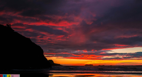 North Coast Crush: A Dramatic Sunset (Part 136): What Moments Truly Mean (in Technicolor)