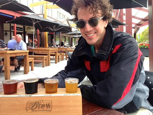 beer tasting at Brew in Rotorua