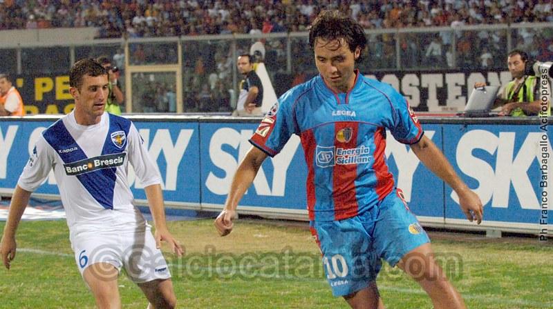 Roberto De Zerbi in rossazzurro nel 2005-06