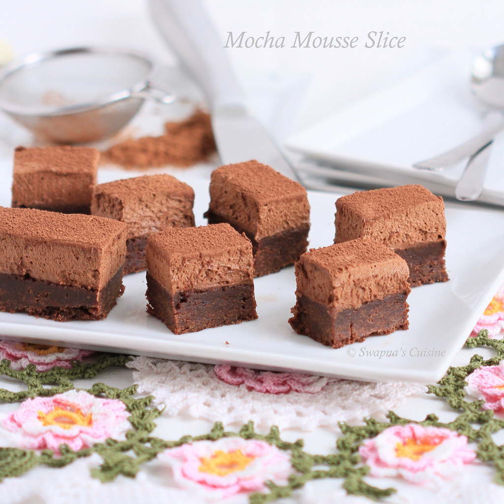 Chocolate Mousse Slice