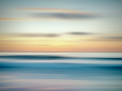 ocean sunset lajolla panning