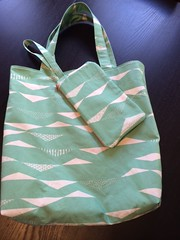 tote and wristlet