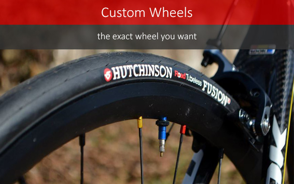 Custom wheels - get exactly what you want
