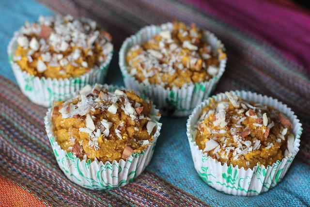 Cornmeal Pumpkin Muffins