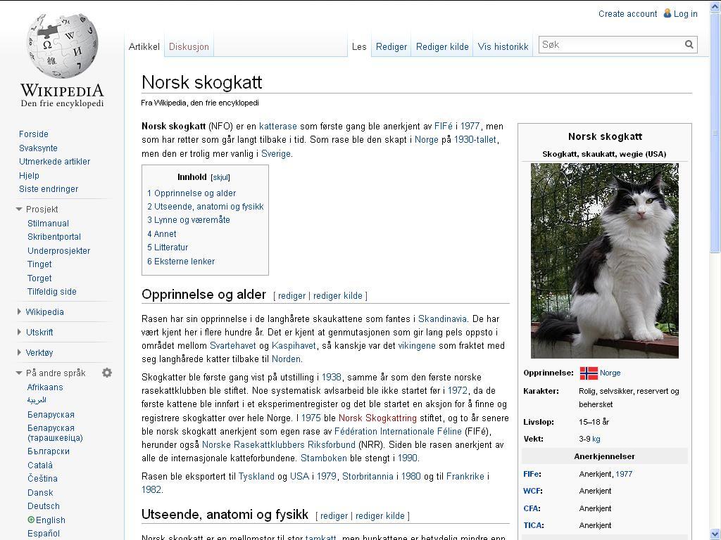 skogkatt wiki