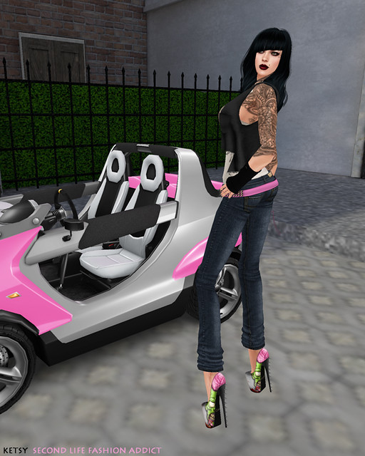 Kets Von Delight - NEW Blog Post @ Second Life Fashion Addict