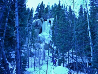 Hidden Falls Ice Climbing Area