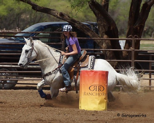 Wickenburg Barrel Race