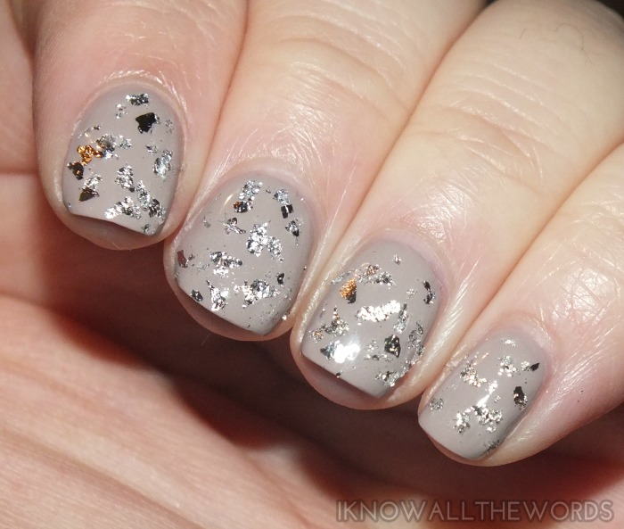 Born Pretty Store Gold and Silver Nail Art Foil (6)