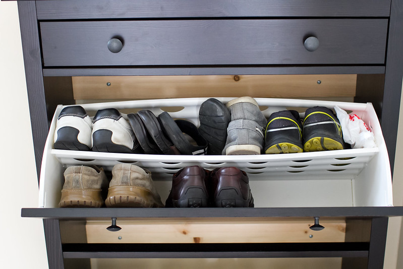 Hemnes Shoe Storage