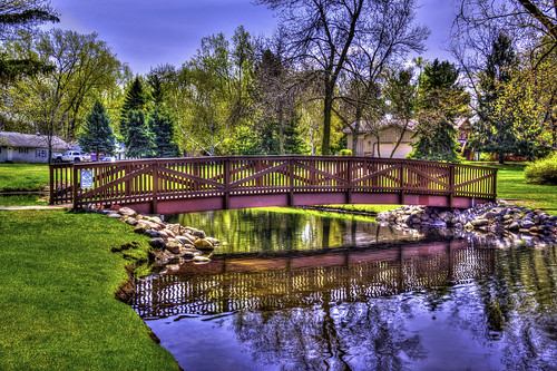 City Park Bridge-HDR