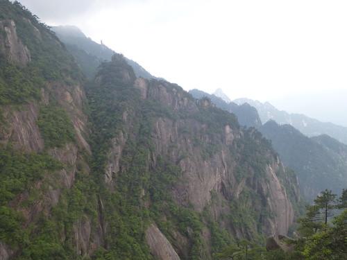 Jiangxi-Sanqing Shan-3 sentier du soleil (124)