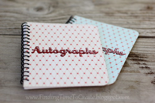 autograph book_glitter