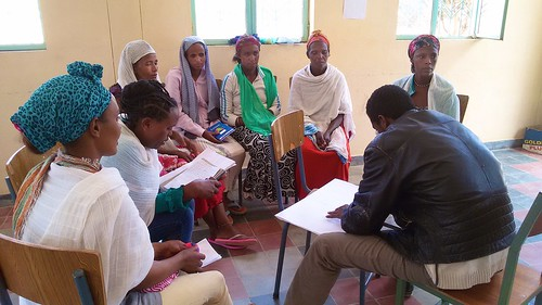 Another Group Discussion at the Women and Youth Empowerment Workshop in February 2015