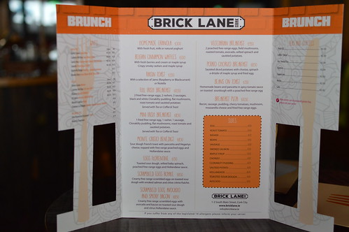 Brunch at Brick Lane, Cork City