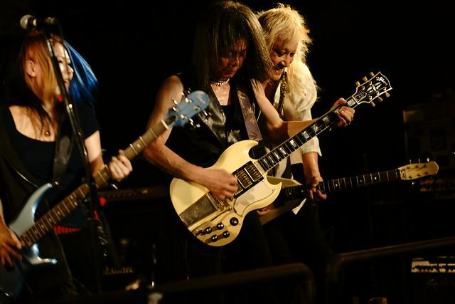 Bubble No.7 live at Outbreak, Tokyo, 23 Jul 2015. 058