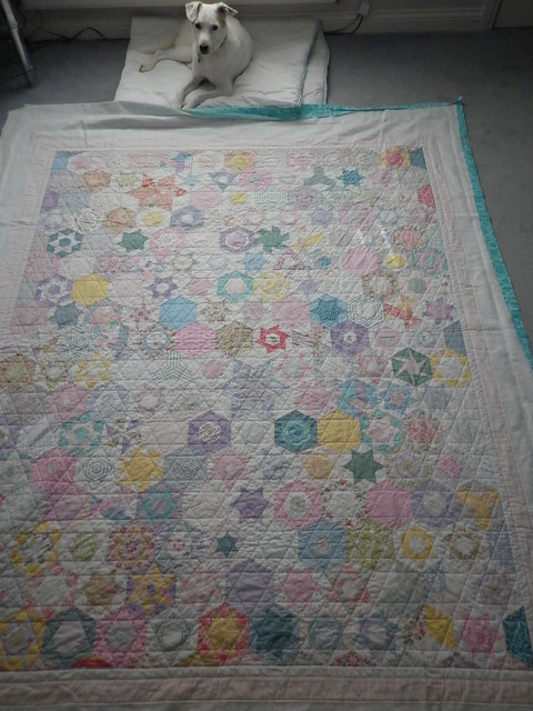 Hexy quilt