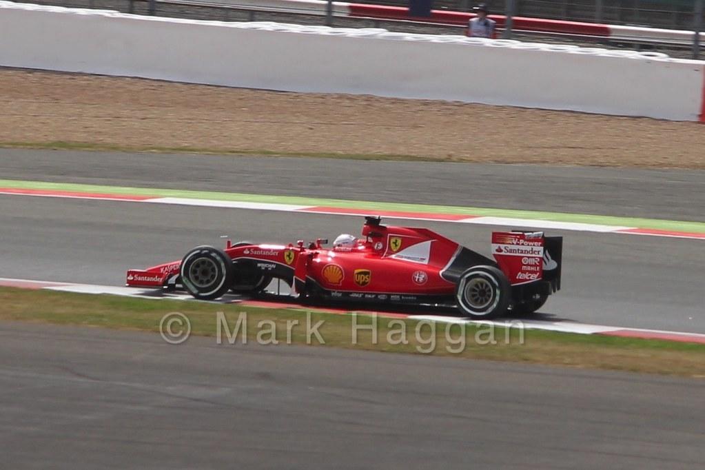 Free Practice 2 at the 2015 British Grand Prix
