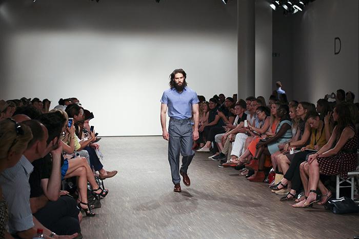 Männermode von Brachmann auf der Berlin Fashion Week