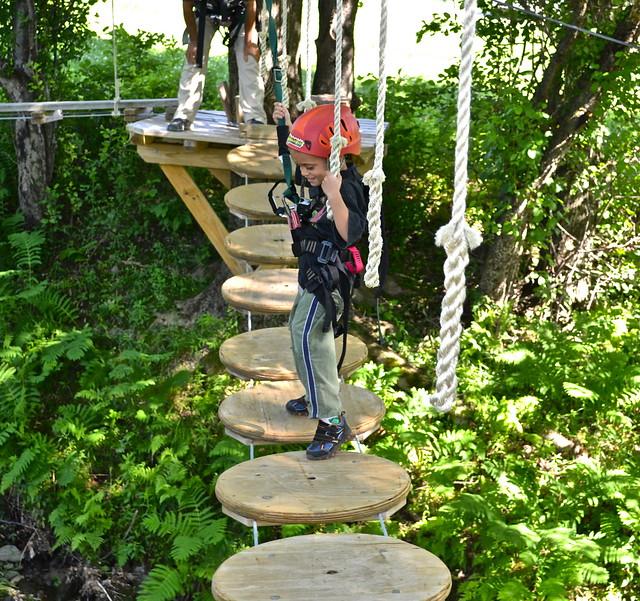 apple creek course 1 - Arbor Trek Smugglers Notch, Vermont