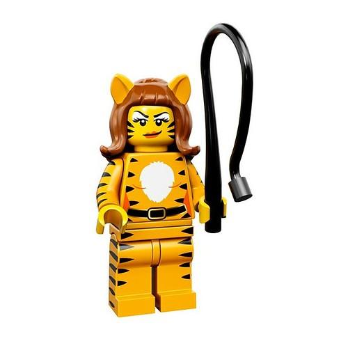 LEGO 71010 Collectible Minifigures Series 14 09 - Tiger Woman