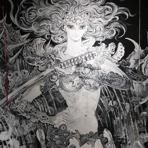 バロン吉元さんのこの作品、すごかったな。