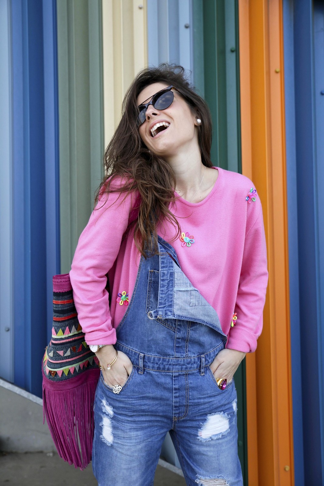 OVERALL OUTFIT FOR SPRING influencer barcelona