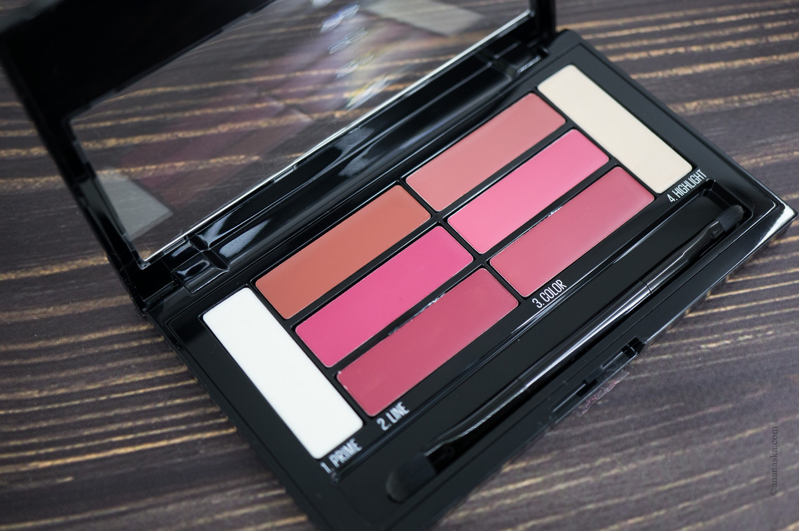 Maybelline Lip Colour Palette Blushed Bombshell