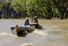 Khmer Fishermen and Flooded Mangrove Forest