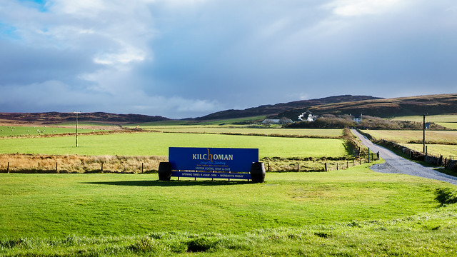 Kilchoman one of the many distillery's on the island
