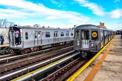 MTA New York City Subway Kawasaki R68A #5006 & R160B #9122