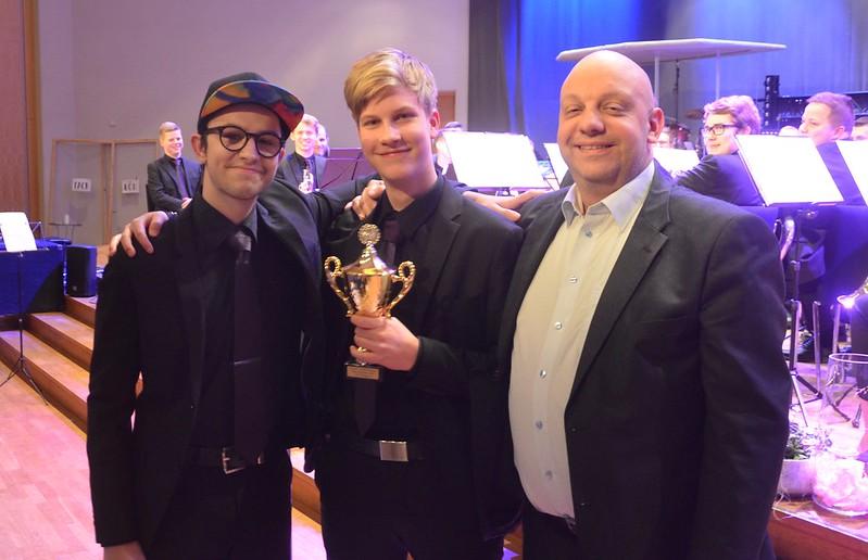 Arnold Stetter och Hugo Lundquist vinnare av solistpriset i grupp 3