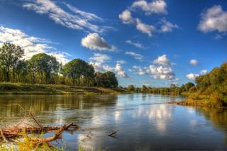 River Weser in Dehme
